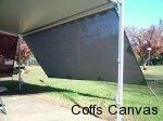 shadecloth long wall