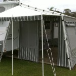 vinyl walls with awning