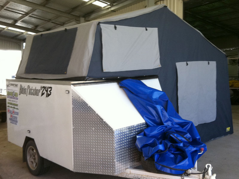 Fold out roof top c&er & Mobile Roof Top Campers « Coffs Canvas