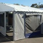 Wind up caravan annexe