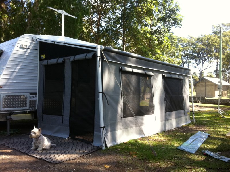 Caravan Annexe Walls Roll Out Awning