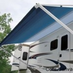 Roll out awning
