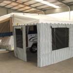 Wind up camper annexes