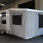 Caravan rear annexe