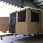 Custom campervan annexes