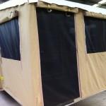 Custom caravan annexes