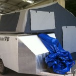 Fold out roof top camper