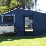 4WD camper trailer