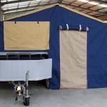 Off road camper trailer