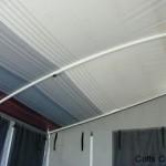 Curved roof caravan rafters