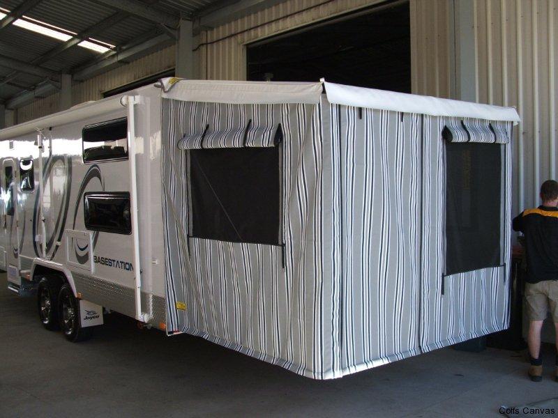 Custom Caravan Annexes Coffs Canvas