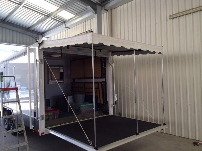 Custom Caravan Annexes Coffs Canvas