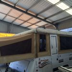 Replacement jayco tent section
