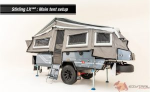 Ezytrail Stirling LX MK2 Camper Trailer