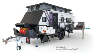 Ezytrail Parkes 15 Offroad Caravan